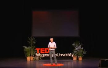 Aquaculture professor at TEDx Climate Conference